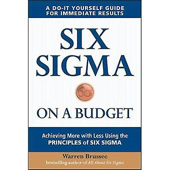 Six Sigma on a Budget Achieving More with Less Using the Principles of Six Sigma door Warren Brussee
