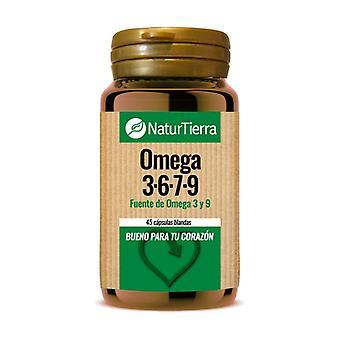 Omega 3,6,7,9 45 kapslar