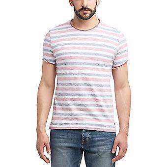 MUSTANG Aaron C Randig T-shirt, mångfärgad (Sommarremsa 11396), XX-Stora Män