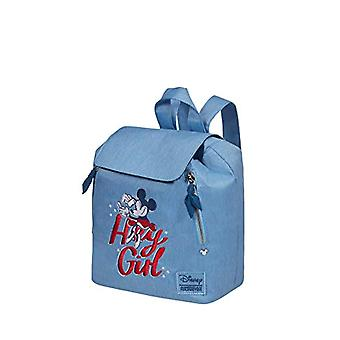 American Tourister Modern Glow Disney Backpack Casual, One Size, Minnie Darling Blue