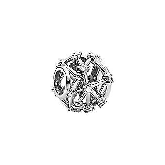 Pandora - Star-shaped pendant, in Sterling silver, 12 x 12 x 9.8 mm (P x A x L)