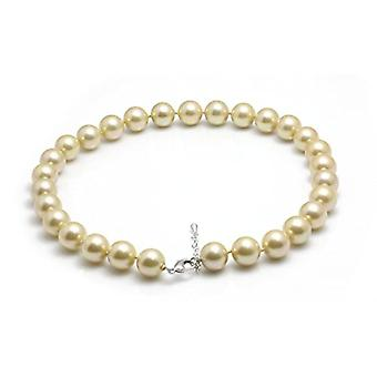 Schmuckwilly shell pearl necklace- women's gold shell necklace 45cm 14mm mk14mm051-45