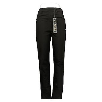 DG2 by Diane Gilman Women's Pants Denim 5-Pocket Jegging Black 718711