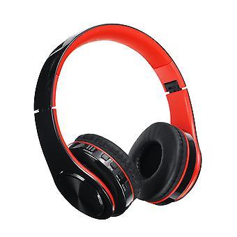 Bluetooth 5.0 bezprzewodowy zestaw słuchawkowy słuchawki obsługuje tf karty radia FM dla tabletu