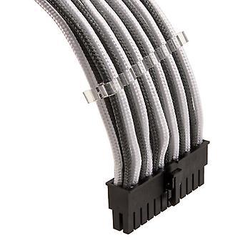 Kit combinado de cable de extensión Phanteks - Blanco / Gris