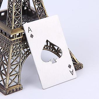 משחק קלפים אס של עלה פוקר בר כלי בקבוק סודה בירה פותחן מתנה