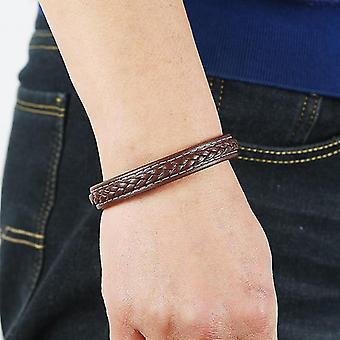 Hand-woven Multi-layer Leather Creative Men's PU Bracelet