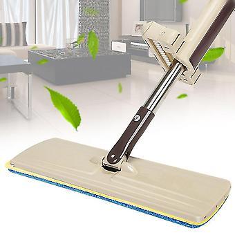 Lazy Hand Wash-free Flat Mop Hands-free Washable Mop Washing Floor Single-side