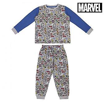 Lasten pyjama Kostajat harmaa