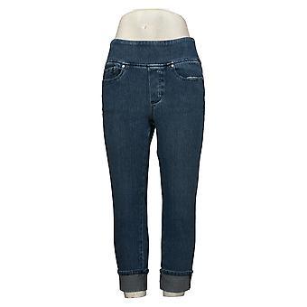Belle By Kim Gravel Women's Jeans Flexibelle Cuffed Blue A345862