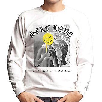 Smiley World Self Love Men's Sweatshirt