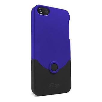 iFrogz Luxe Case for Apple iPhone 5 - Blue/Black