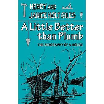 Lite bättre än Plumb - Biografin om ett hus av Henry Giles -