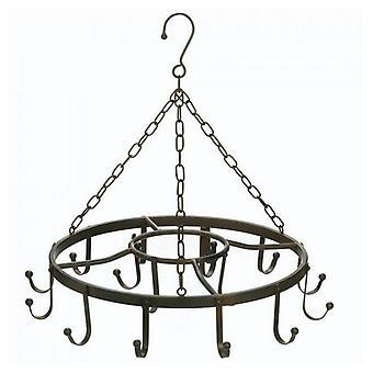 Accent Plus Circular Iron Hanging Pot Rack, Pack of 1