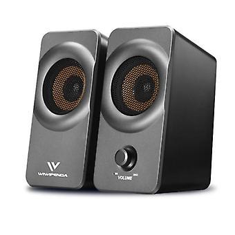 X5 multimedia Surround stereo notebook desktop computer 3.5mm mini speaker