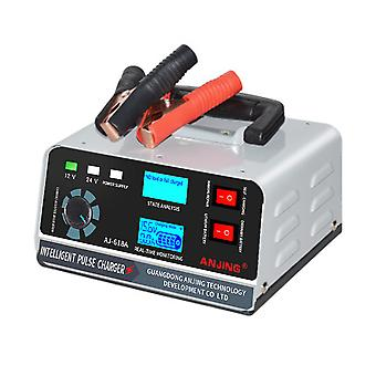 1pc Car Battery Charger Intelligent Pulse Charger Battery Maintainer (Plug)