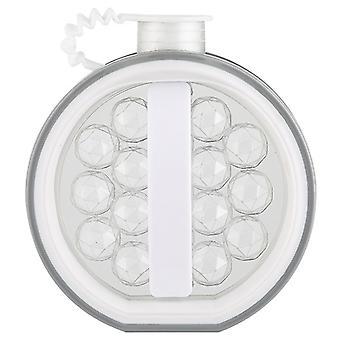 2-in-1 jääpallonkeitin 17 grid kannettavalla jääpallon kaavainpullolla cocktailkahville