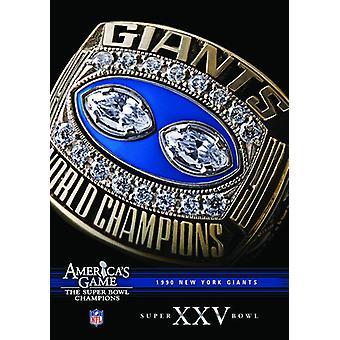 NFL America's Game: 1990 Giants (Super Bowl Xxv) [DVD] USA import