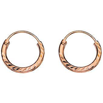 Серьги серебро 925 позолоченными кольцом