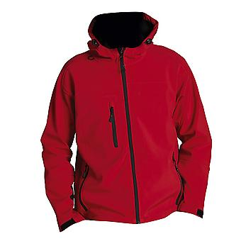 SOLS Mens Replay Hooded Soft Shell Jacket (Breathable, Windproof And Water Resistant)