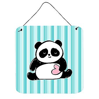 Carolines schatten BB7040DS66 Panda Beer Love muur of deur hangen Prints