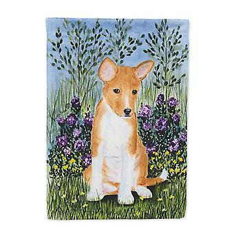 Carolines Treasures  SS8108-FLAG-PARENT Basenji Flag