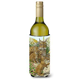 Lynx & Cubs Wine Bottle Beverage Insulator Hugger