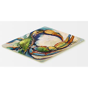 Carolines Treasures  JMK1091CMT Blue Crab Kitchen or Bath Mat 20x30