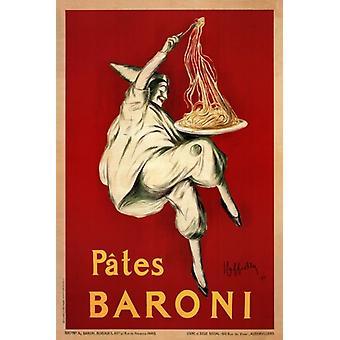 Pates ברוני 1921 פוסטר הדפסה על ידי לאונטו Cappiello (16 x 24)