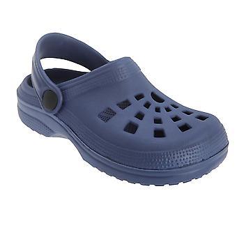 Barnas/unger marinen sommer tette sandaler