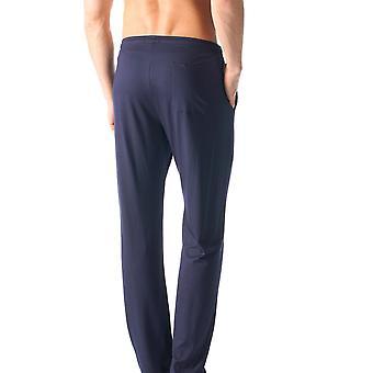 MEY 65660-668 muži ' s Jeffersona modrá plná barva pyžjama pyžamův pant