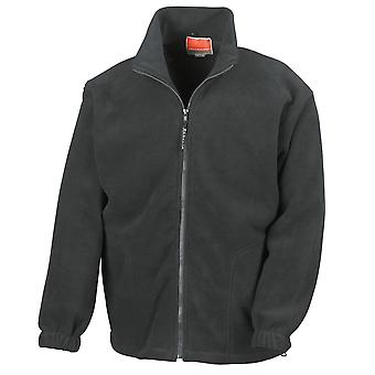 Result Mens Full Zip Active Full Zip Anti Pilling Fleece Jackets