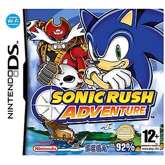 Sonic Rush Adventure (Nintendo DS)-nieuw