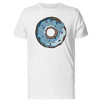 Blau Donut T-Shirt Herren-Bild von Shutterstock