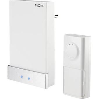 Sygonix 1417379 Wireless door bell Complete set batteryless