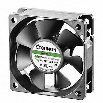 Sunon MB60201V1-000U-A99 Assale ventilatore Axial 12 V DC 39.07 m3/h (L x W x H) 60 x 60 x 20 mm