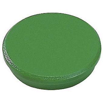 Dahle Magnet (Ø x H) 32 mm x 7 mm Facet edge, Round Green 1 pc(s) 95532