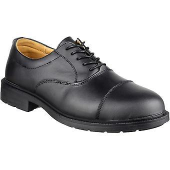 Amblers Safety Mens FS43 Work Leather Lace Up Oxford Shoes