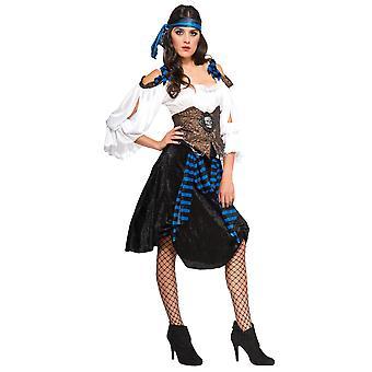 Rum Runner pirata Swashbuckler pirata do Caribe livro semana Womens traje