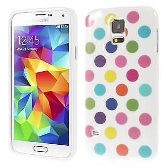 मोबाइल सैमसंग गैलेक्सी S5 के लिए सुरक्षात्मक मामले / S5 नव सफेद रंग का /