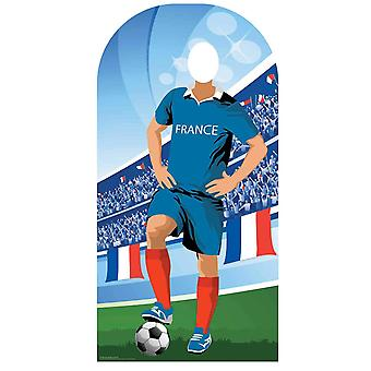 World Cup 2018 France Football Cardboard Cutout / Standee Stand-in