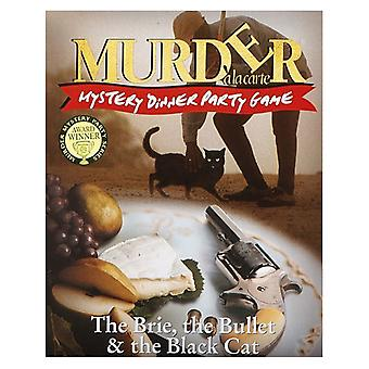 Murder Mystery Game Inspector McClue The Brie, The Bullet and The Black Cat
