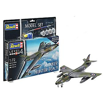 Revell 63908 1:72 100 jaar RAF: Hunter FGA.9 Plastic Model Kit