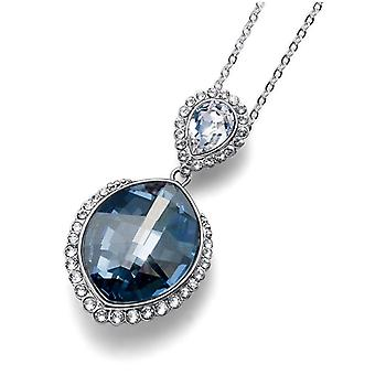 Oliver Weber Pendant Blue Lemon Rhodium, Blue Shade