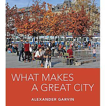 Ciò che rende una grande città da Alexander Garvin - 9781610917582 libro