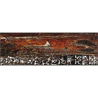 lavado + seca la vida mat contiene raíces Maria Fischbacher Jaehner 60 x 180 cm