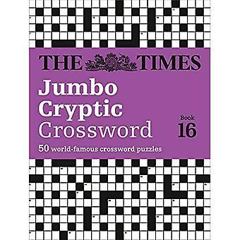 Il Times Crossword criptico Jumbo prenotare 16: Il mondo s più impegnativi criptico cruciverba