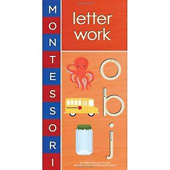 Montessori: Brief Arbeit