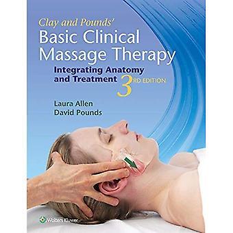 Lera & pund grundläggande klinisk Massageterapi: Att integrera anatomi och behandling