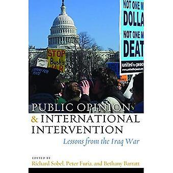 Öffentliche Meinung und internationale Intervention: Lehren aus dem Irak-Krieg